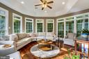 Have your morning coffee in the sunroom! - 208 ROSALIE COVE CT, SILVER SPRING