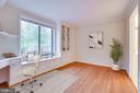 SECONDARY BEDROOM W/ BUILT IN DESK - 19385 CYPRESS RIDGE TER #102, LEESBURG