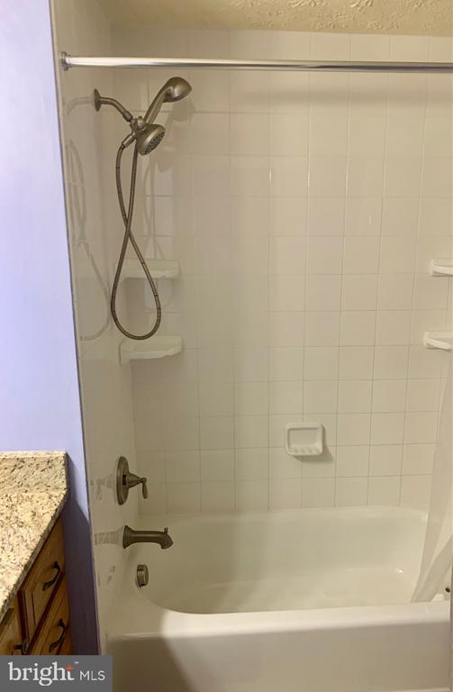 Updated shower in hall bath - 108 ALMEY CT, STERLING