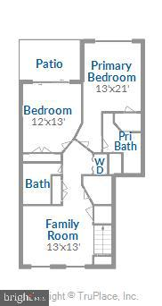 Floor Plan Lower Level - 1597 LEEDS CASTLE DR #101, VIENNA