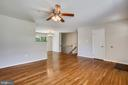 Gleaming Hardwood Floors throughout Mail Level - 6508 HAYSTACK RD, ALEXANDRIA