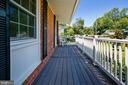 Front Porch for Socializing with Neighbors - 6508 HAYSTACK RD, ALEXANDRIA