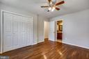 Primary Bedroom with En-Suite and Large Closet - 6508 HAYSTACK RD, ALEXANDRIA