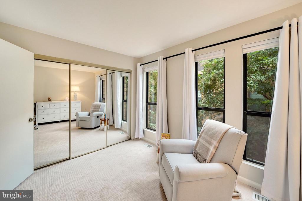 large closet, neutral windows coverings - 4427 7TH ST N, ARLINGTON