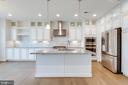 Upgraded gourmet kitchen - 42758 AUTUMN DAY TERRACE, ASHBURN