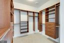 Fabulous upgraded walk-in closet primary bedroom - 42758 AUTUMN DAY TERRACE, ASHBURN