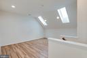 Upper-level loft and skylights. - 42758 AUTUMN DAY TERRACE, ASHBURN