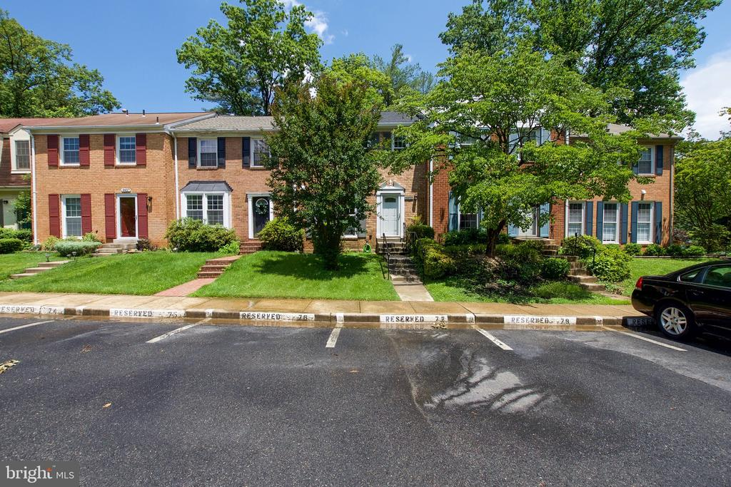 Two Assigned Parking Spaces - 9453 CLOVERDALE CT, BURKE
