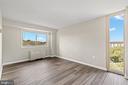 Master bedroom. - 2500 N VAN DORN #1128, ALEXANDRIA