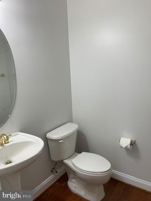 Powder Room on main level - 43512 STARGELL TER, LEESBURG