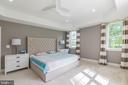 Primary bedroom suite - 3501 QUEEN ANNE DR, FAIRFAX