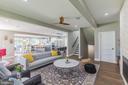 Very open floor plan - 3501 QUEEN ANNE DR, FAIRFAX