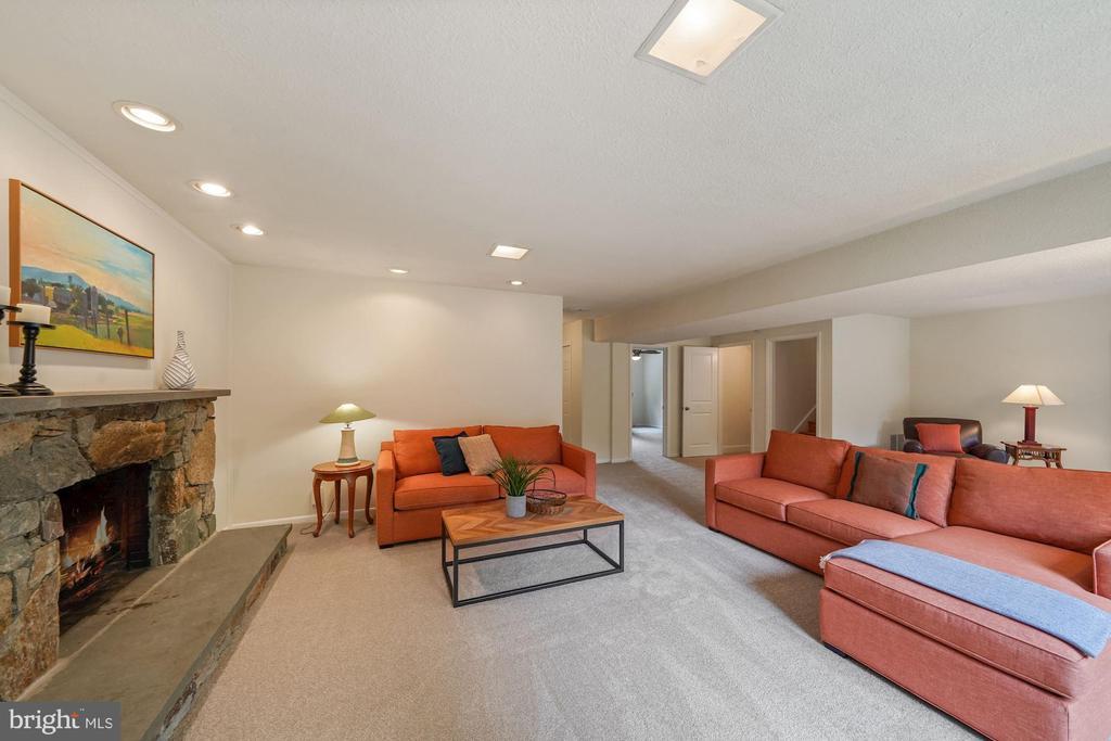 2nd Fireplace - 5312 CARLTON ST, BETHESDA