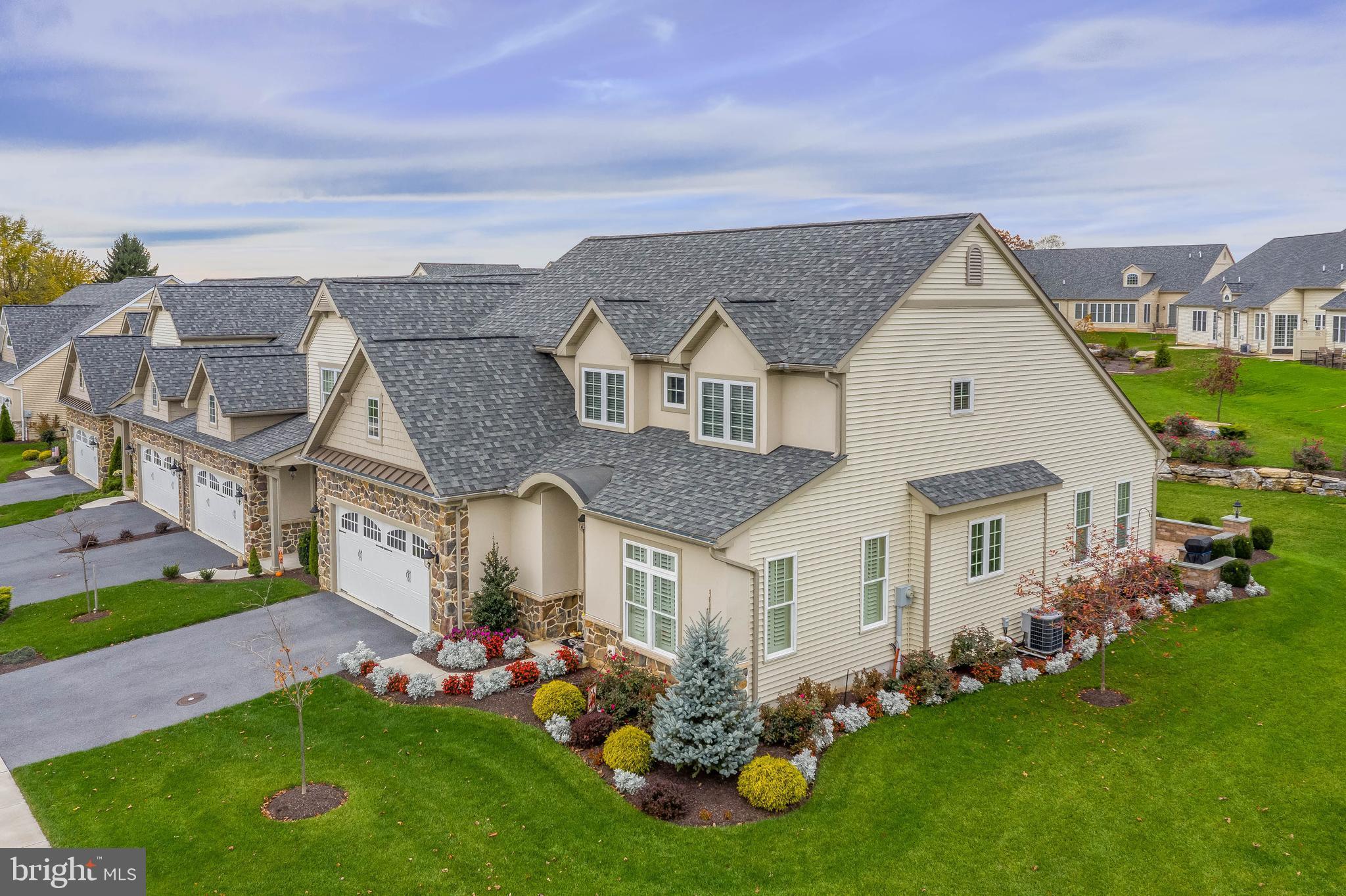 Aerial community picture