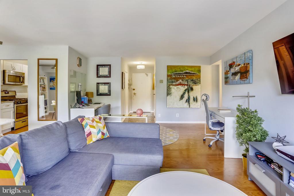 Living Area - 9039 SLIGO CREEK PKWY #410, SILVER SPRING