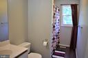 Main level Hall bath - 4 US FORD LN, FREDERICKSBURG