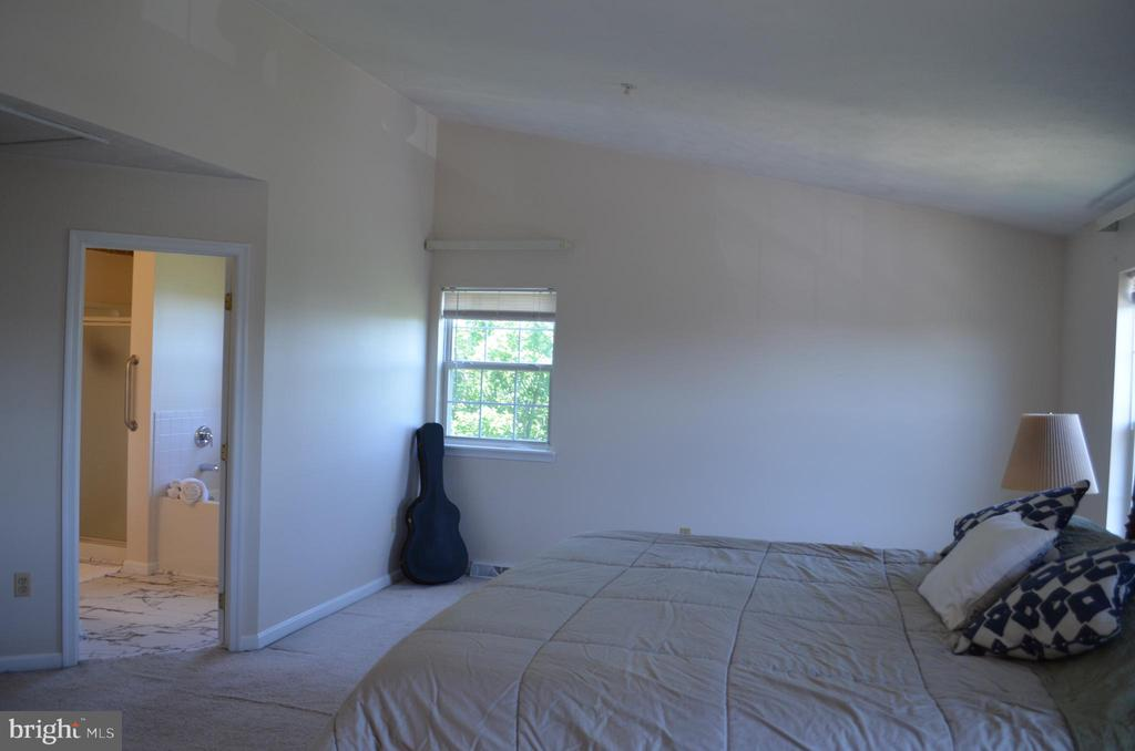 Beautiful master bedroom - 4900 EDGEWARE TER, FREDERICK