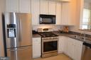 Gas cooking on stainless appliances! - 4900 EDGEWARE TER, FREDERICK