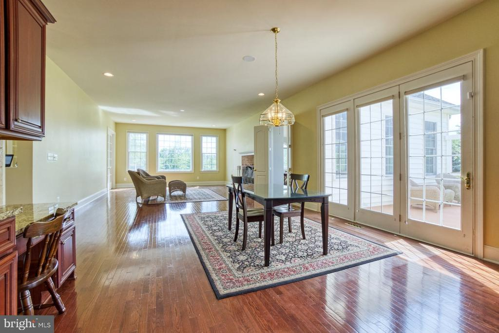 STEP OUT INTO THE LOW MAINTENANCE DECK - 20003 BELMONT STATION DR, ASHBURN