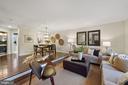 View from the family room - 4110 WASHINGTON BLVD, ARLINGTON