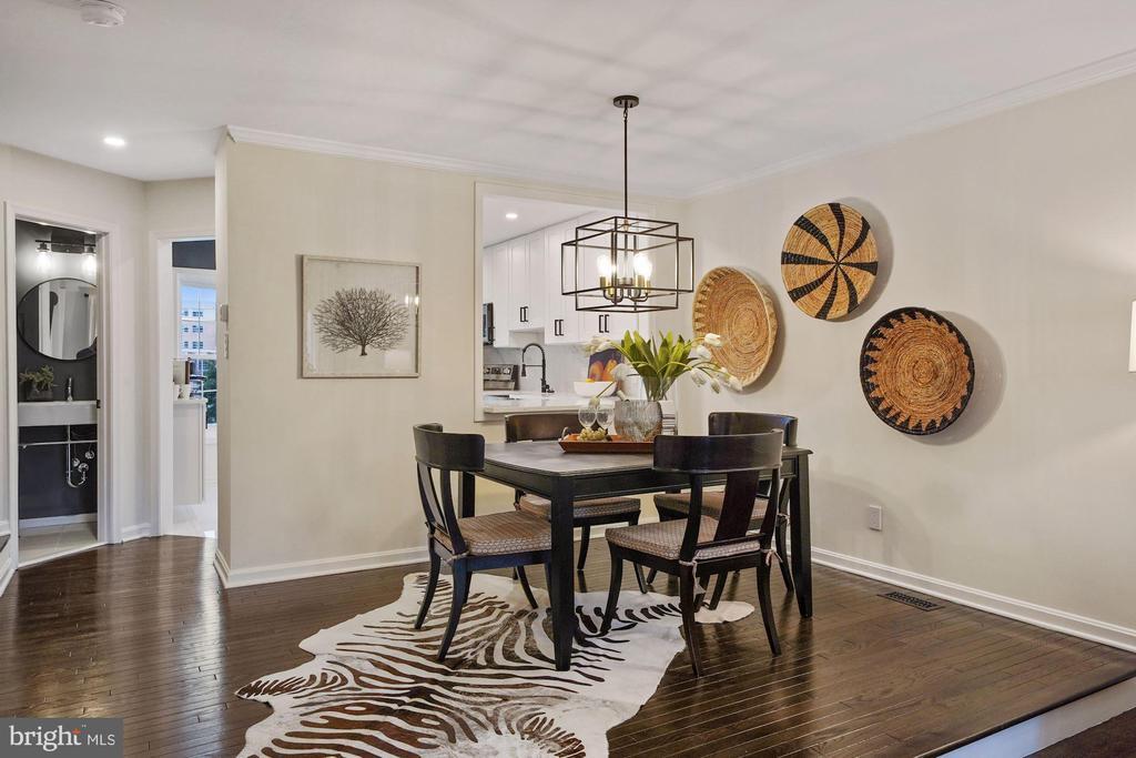 Beautiful dining room - 4110 WASHINGTON BLVD, ARLINGTON