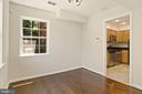 Can be used as a dining room - or a study. - 9761 HAGEL CIR #E, LORTON