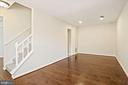 This is the largest room in the townhome. - 9761 HAGEL CIR #E, LORTON