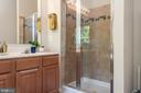 Upgraded master bath awaits the start to the day - 612 BURBERRY TER SE, LEESBURG