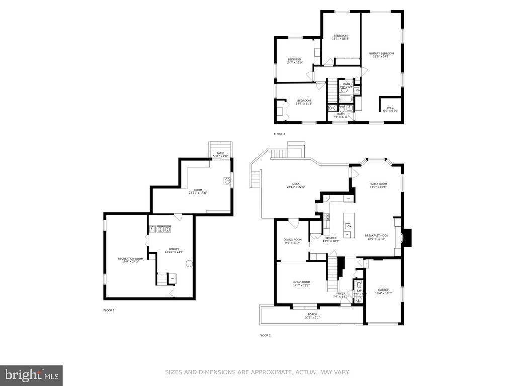 Floor Plan - 108 ALMEY CT, STERLING