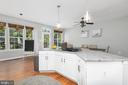 No need to be kept out of discussion while cooking - 612 BURBERRY TER SE, LEESBURG