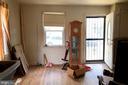 Living room w/hardwood floors - 4639 A ST SE, WASHINGTON