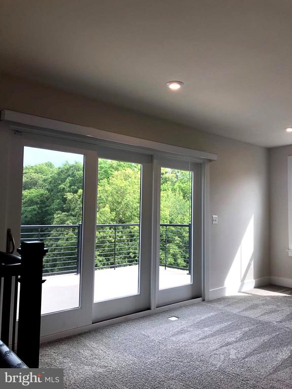 Private Rooftop Level Loft with view of Treetops - 12012 N SHORE DR, RESTON