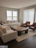 Living Room - Light filled with Windows on 2 sides - 12012 N SHORE DR, RESTON