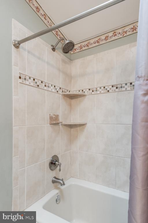 Shower tub combo in Master Bath - 8288 WATERSIDE CT, FREDERICK