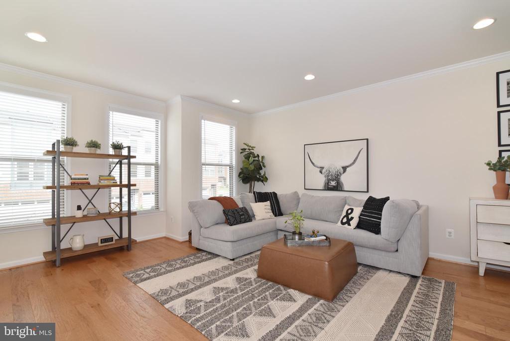 Living room - 42349 ALDER FOREST TER, STERLING
