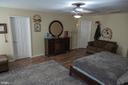 Master bedroom - 12300 PLANTATION DR, SPOTSYLVANIA