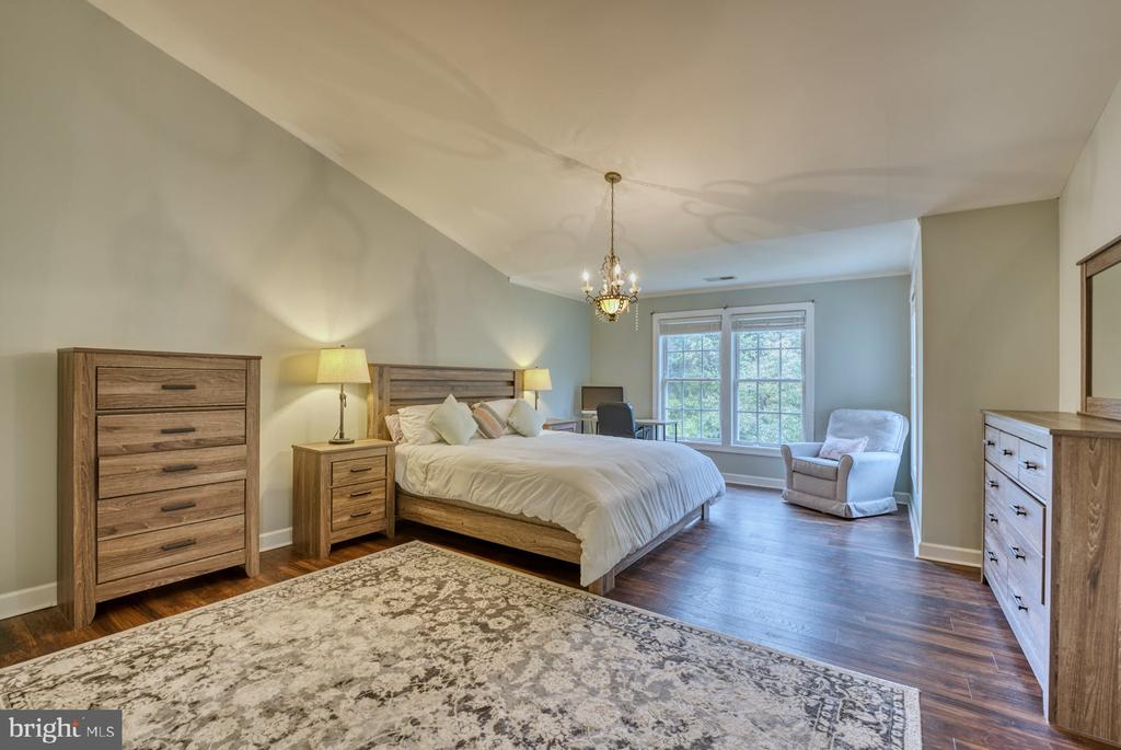 Very Spacious Primary Bedroom w Walk-in Closet - 8075 MONTOUR HEIGHTS DR, GAINESVILLE
