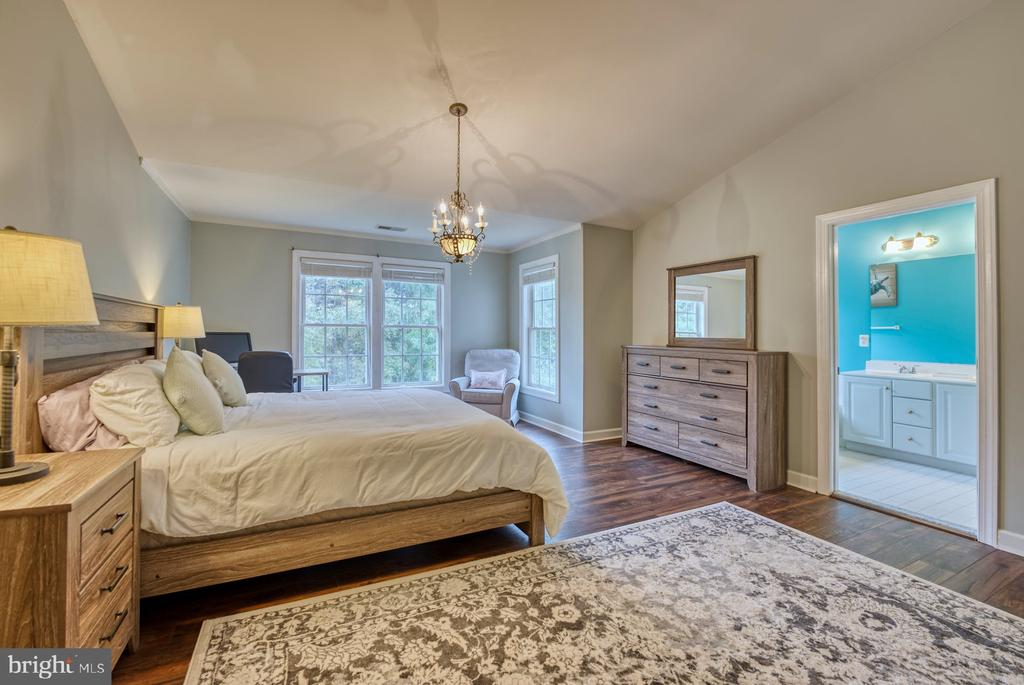 Primary Bedroom has Lots of Natural Light - 8075 MONTOUR HEIGHTS DR, GAINESVILLE