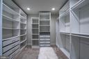 Primary closet has organizers - 5507 DURBIN RD, BETHESDA