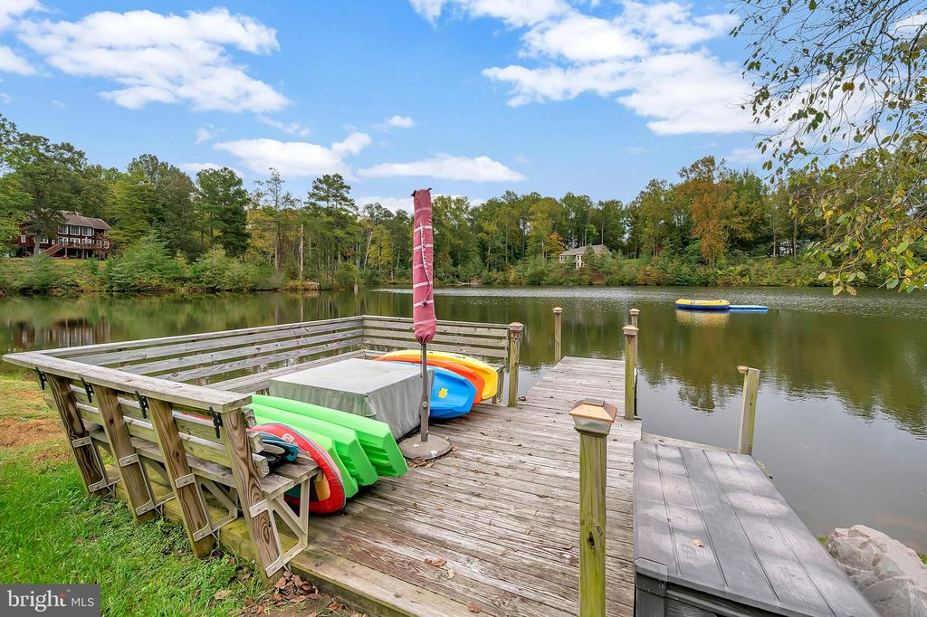 Your own dock - 7398 JACKSON DR, KING GEORGE