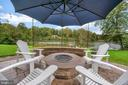 Cozy up by the firepit - 7398 JACKSON DR, KING GEORGE