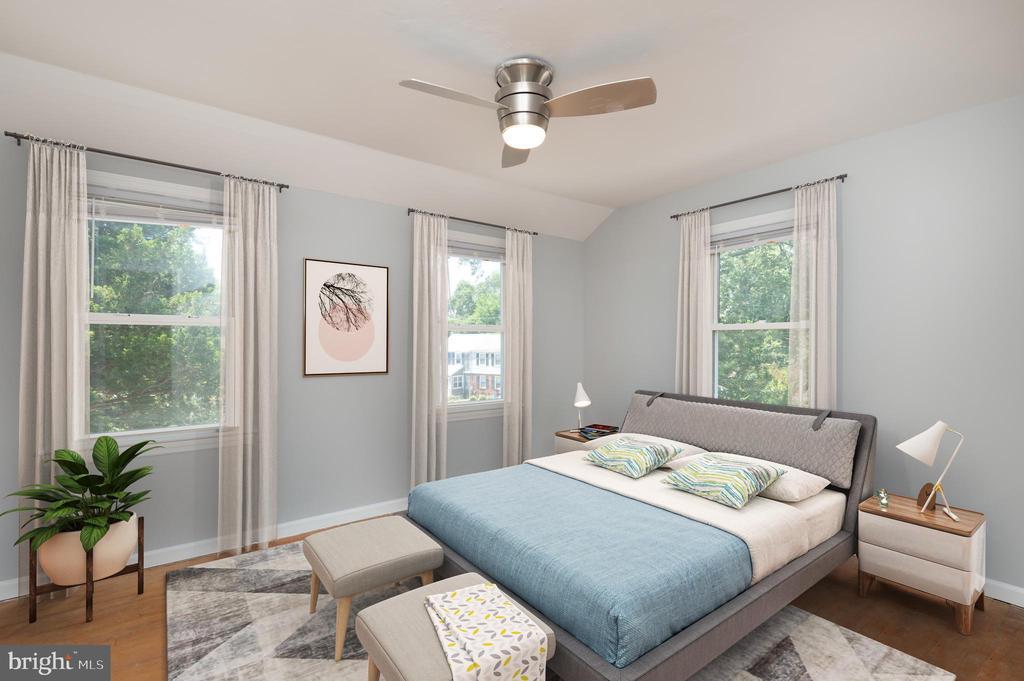 Master Bedroom - 5921 EDGEHILL DR, ALEXANDRIA