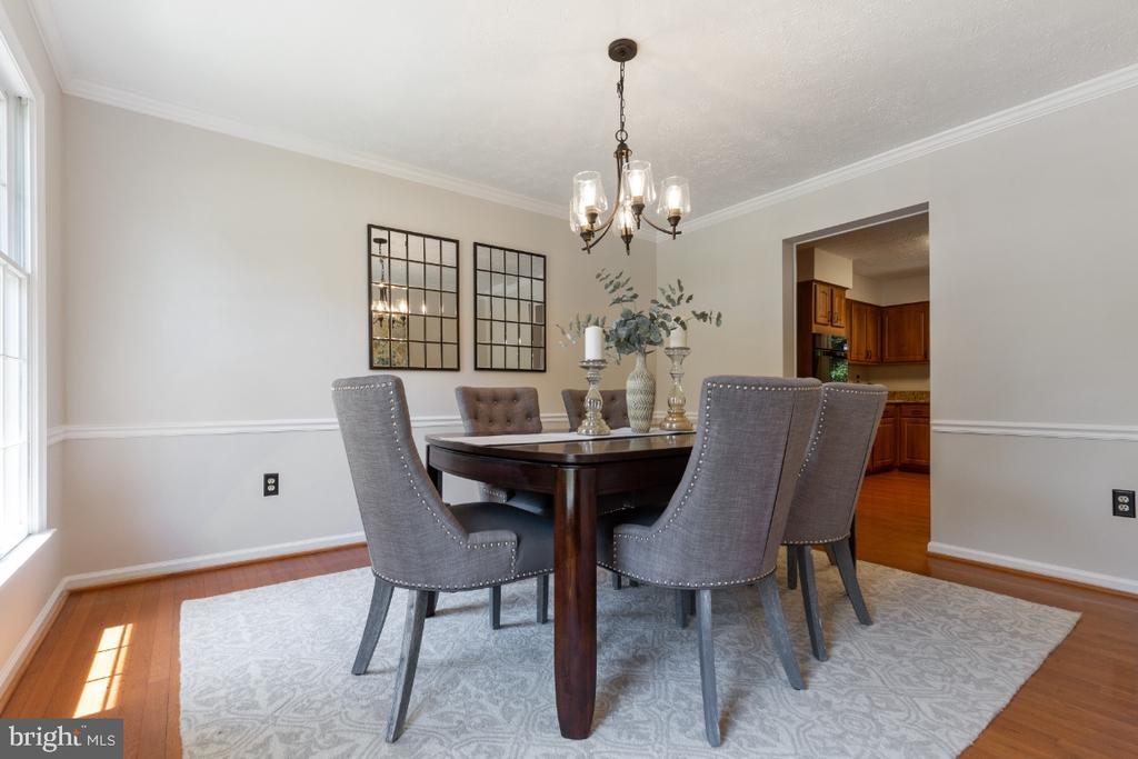 Spacious and separate formal dining room - 7324 JENNA RD, SPRINGFIELD