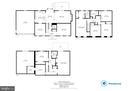 All floor plans - 7324 JENNA RD, SPRINGFIELD