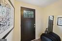 Back door and back foyer to parking - 4110 WASHINGTON BLVD, ARLINGTON