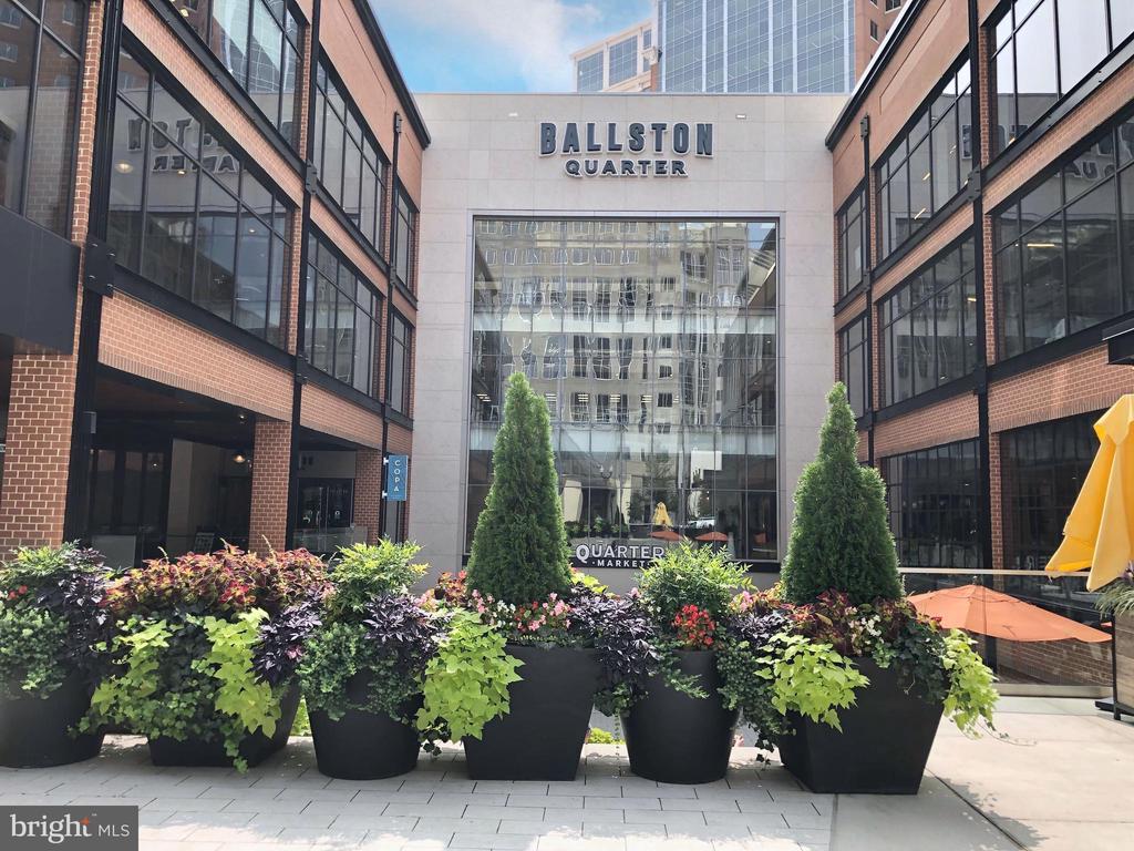 Freshly redone Ballston Quarter - 4110 WASHINGTON BLVD, ARLINGTON