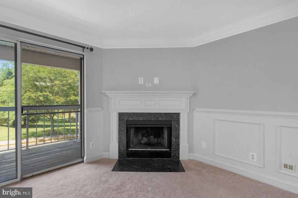 Elegant Fireplace - 5835 ORCHARD HILL LN, CLIFTON