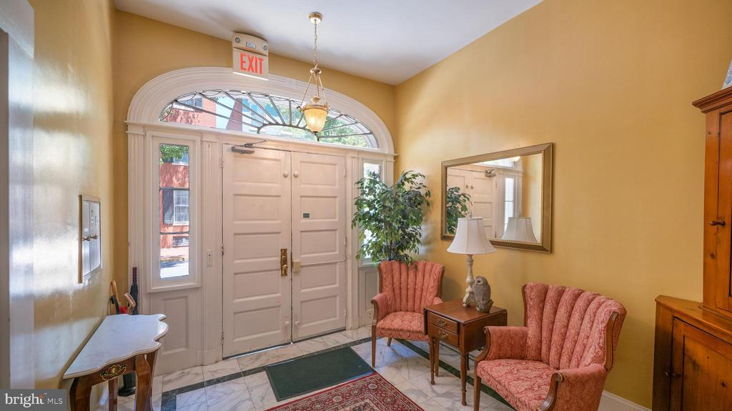 gracious, secure entry lobby - 100 E 2ND ST, FREDERICK