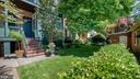 rear gardens - 100 E 2ND ST, FREDERICK