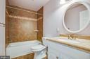 Full bathroom - 655 COURTHOUSE RD, STAFFORD